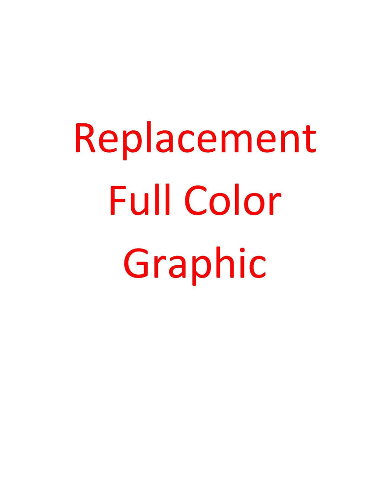 Replacement fabric graphic for FP-MT-10