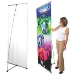 I-Beam Banner Stand & Graphic - Godfrey Group