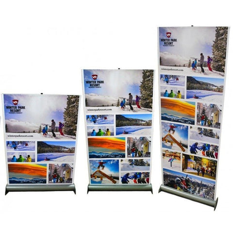 Jiffy Screen Retractable Banner Stand