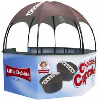 Dome Kiosk Package, 9'w - Godfrey Group
