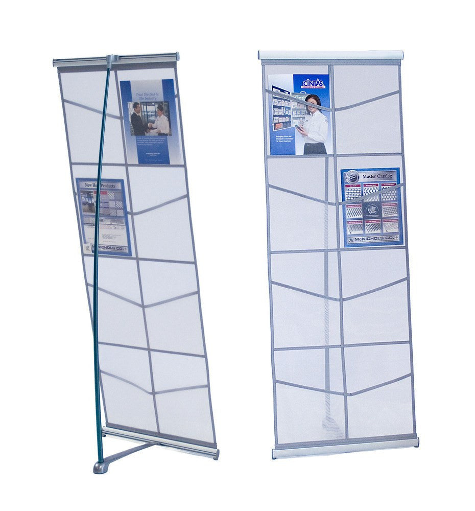Mesh Literature Stand, 8 Pockets - Godfrey Group