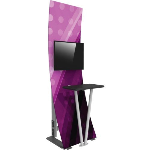 Monitor Kiosk With Full Color Graphic - Godfrey Group