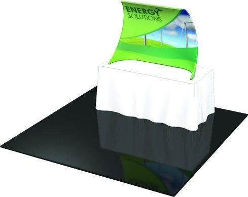 Compound Curve Table Top Display - Godfrey Group
