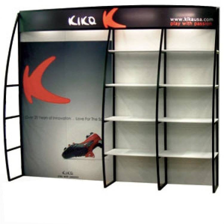 10' OutRigger Shelf Display - Godfrey Group