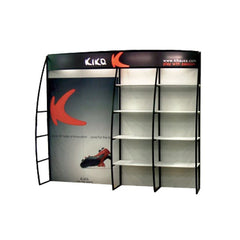 8' OutRigger Shelf Display, Front View