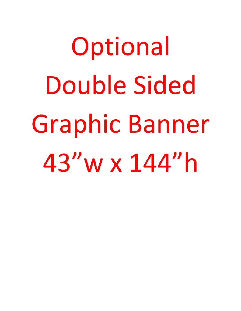 Double sided banner - Godfrey Group