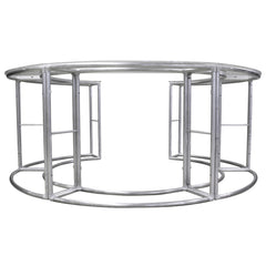 8' Round Greeting Counter, Frame