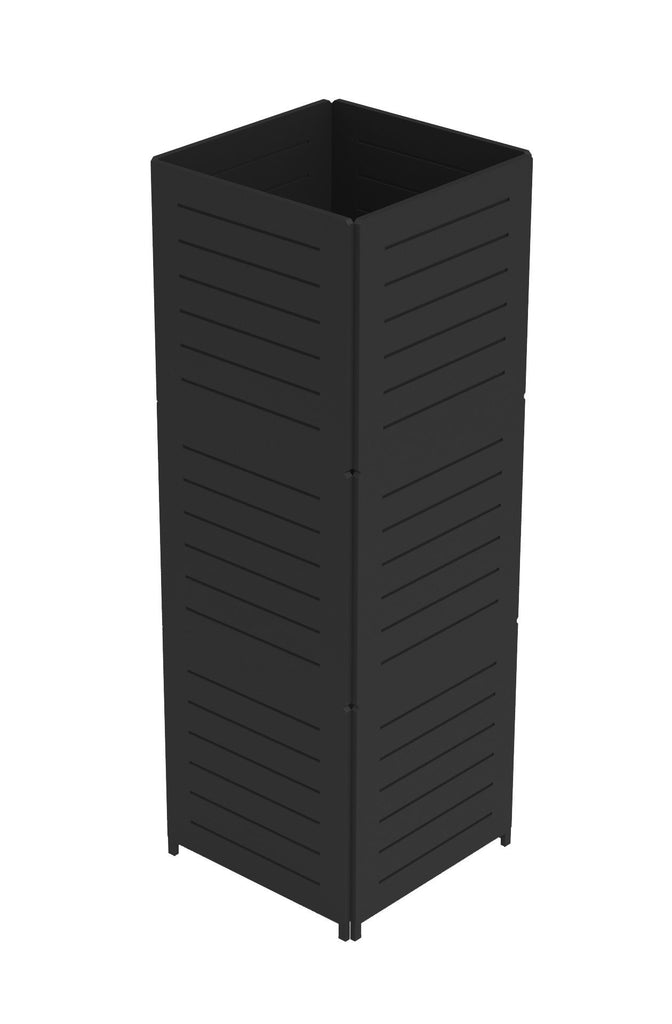 Portable Rectangular Slatwall Tower
