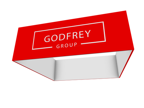 Square Hanging Header, 10' x 4'h - Godfrey Group
