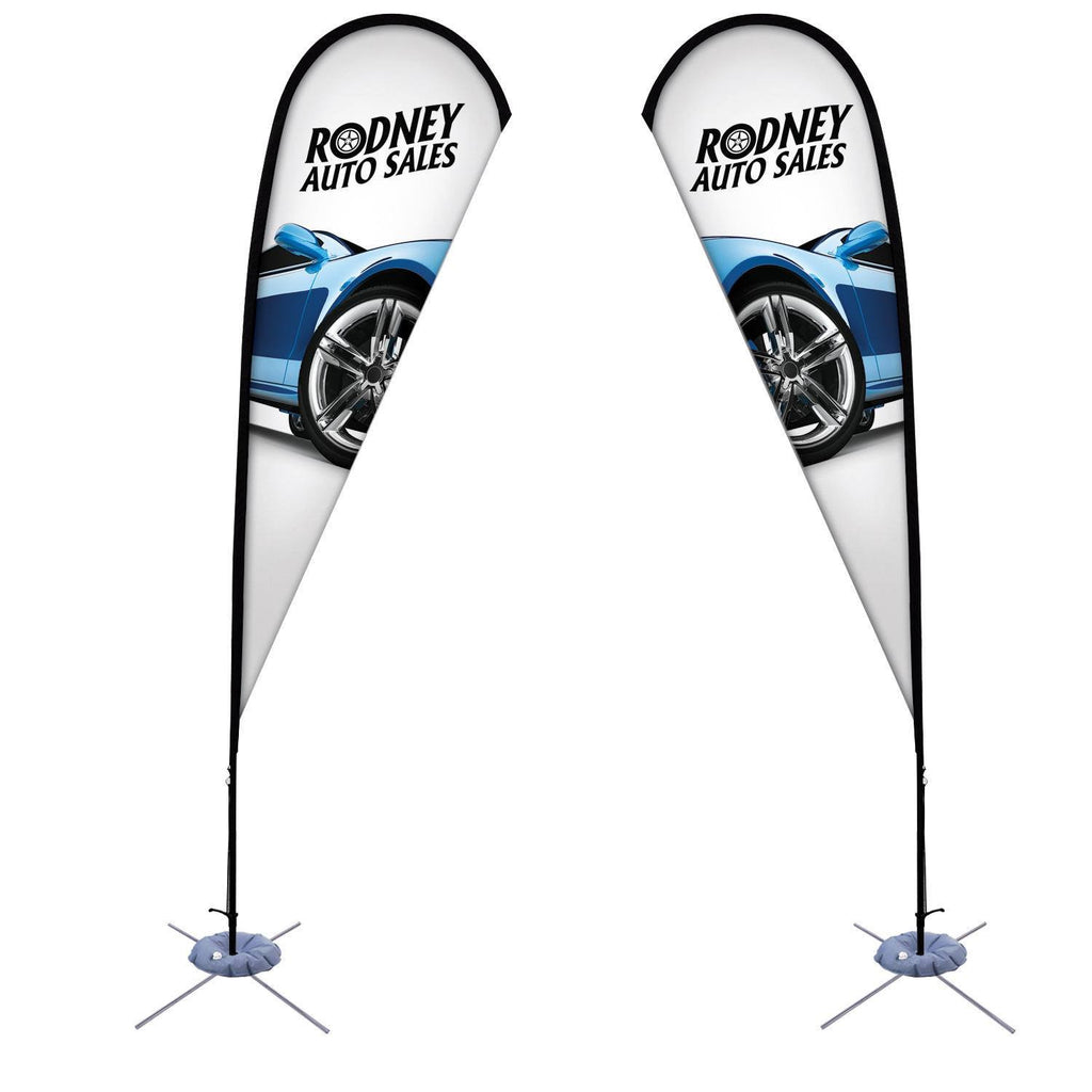 Teardrop Shaped Outdoor Banner - Godfrey Group