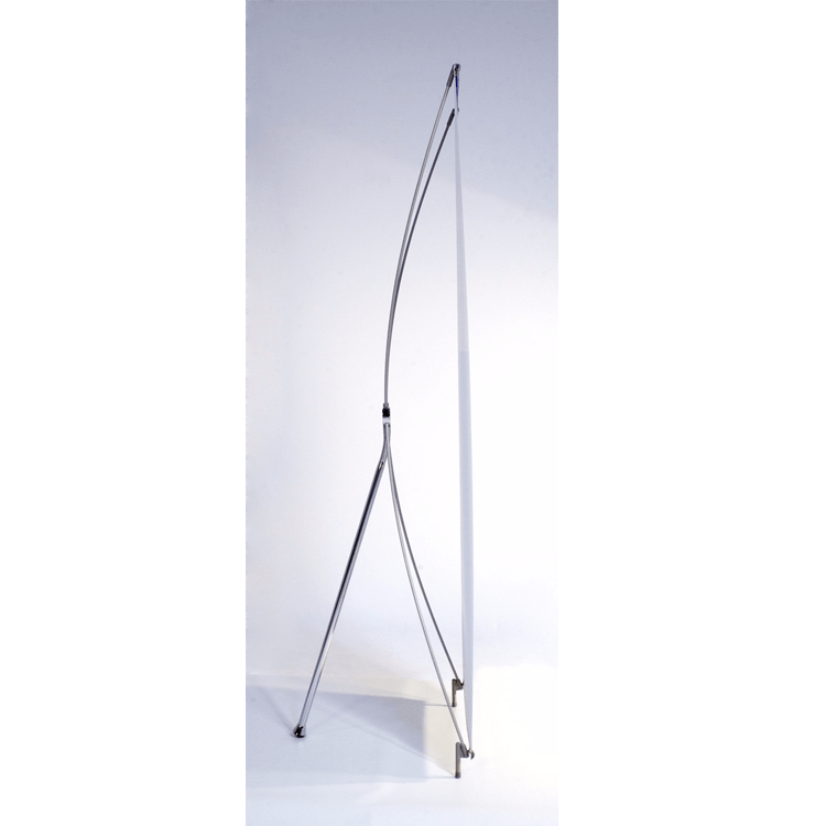tripod banner stand 24 quot w x 71 quot h godfrey group
