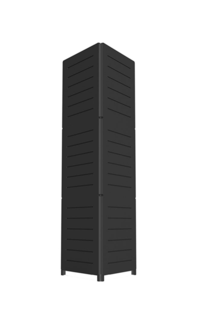 Portable Triangular Slatwall Tower