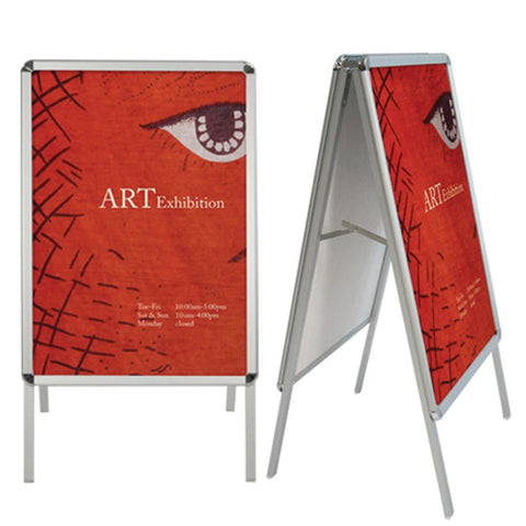 Indoor/Outdoor A-Frame Sign Display