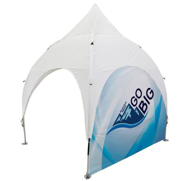 Arch tent side wall - full view