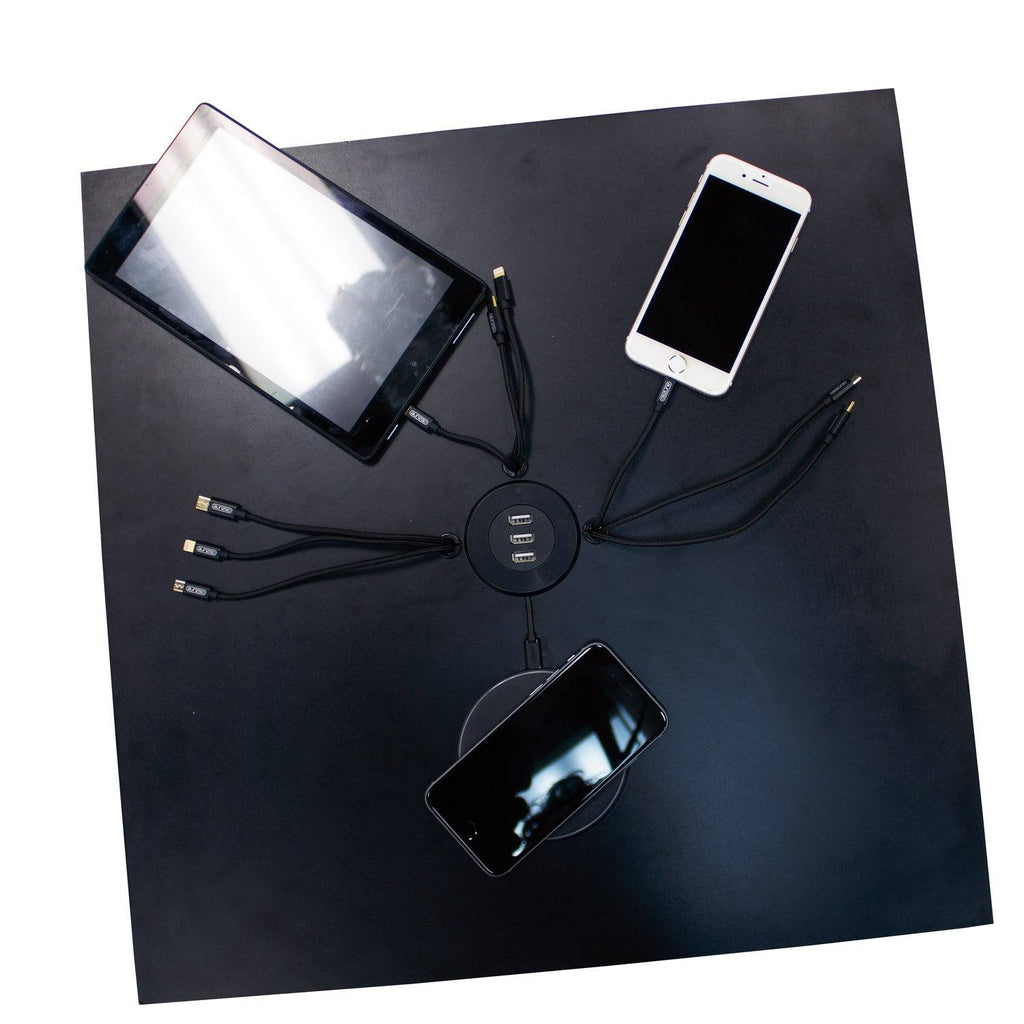 Backlit Charging Station