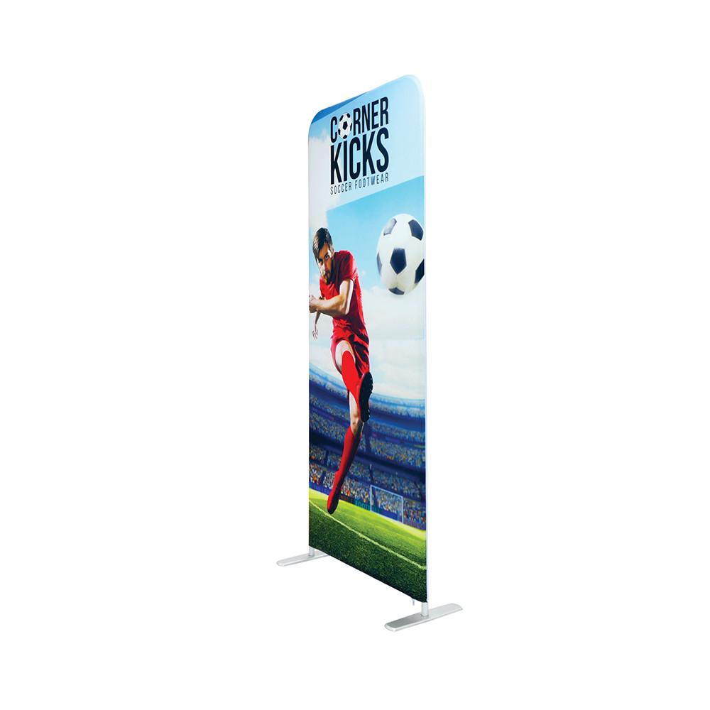 Fabric Banner Stand With Double Sided Graphic