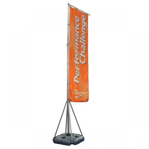 Banner Sail Outdoor Banner Stand