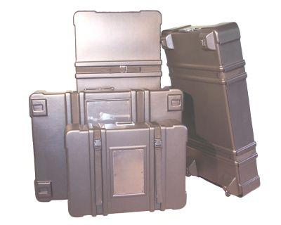 Molded Plastic Shipping Cases (11 size options)