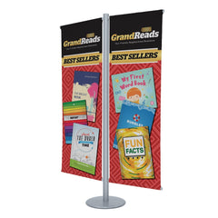 Double Banner Stand