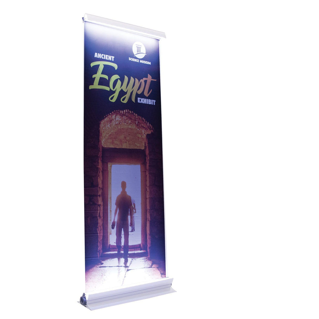 Illuminated Retractable Banner Display