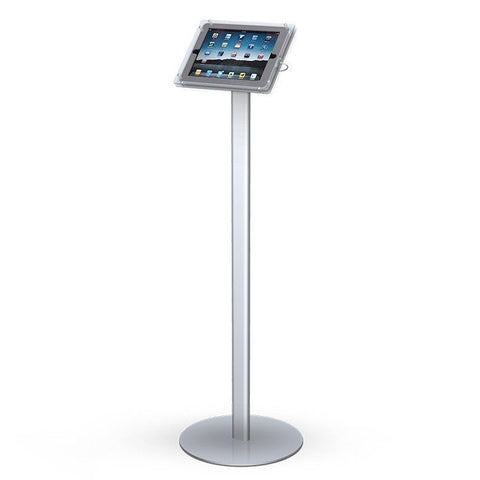 Straight iPad Stand, Round base - Godfrey Group