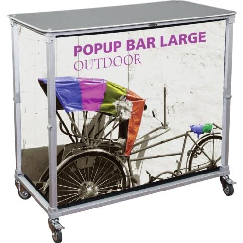 Portable Knock Down Bar/Sampling Station