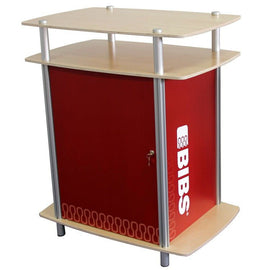 "35"" Rectangular Pedestal with Two Tier Counter"