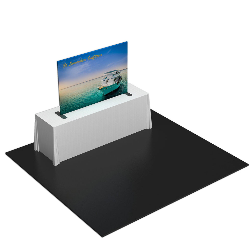 Straight Tension Fabric Table Top Display