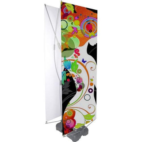 Double Sided Outdoor Banner Stand