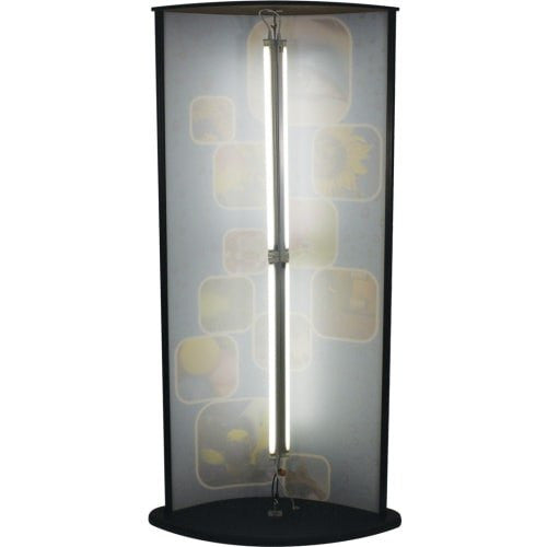 Oval Faced Light Box Tower - Godfrey Group