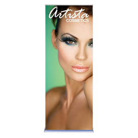 Fixed Height Retractable Banner Stand With Vinyl Graphic - Godfrey Group