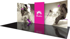 20' Tension Fabric Exhibit With Backlit Center Module