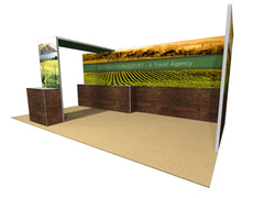 10x20 Modular & Reconfigurable Exhibit