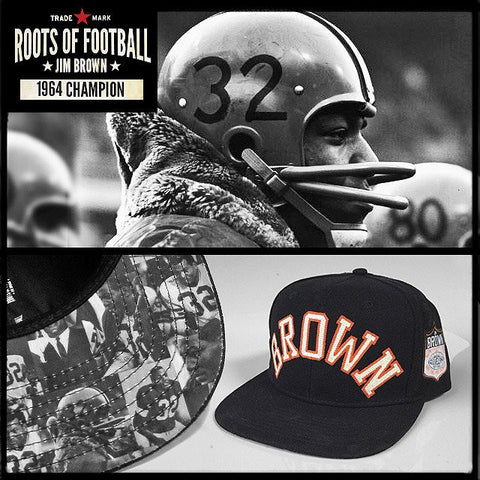Jim Brown Snapback Hat
