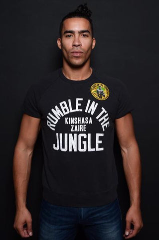 Rumble in the Jungle Cut-Off Sweatshirt