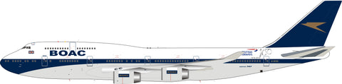 "Inflight200 1:200 BOAC / British Airways Boeing 747-400 ""100 year anniversary"" w/stand G-BYGC #BA100"