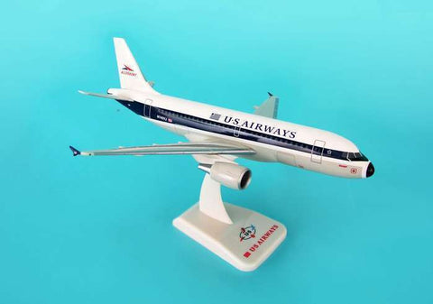 "Hogan Wings US Airways Airbus A319 ""Allegheny Retro Livery"" 1:200 HG3602G FREE S&H!"