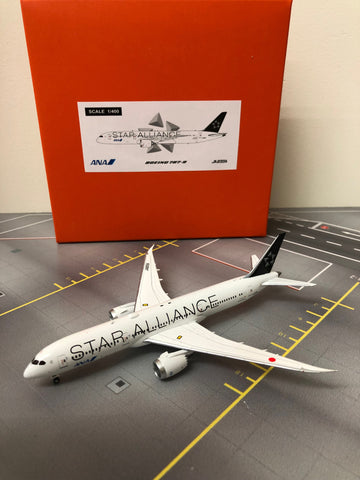 "JC Wings 1:400 ANA B787-9 ""Star Alliance Livery"" JA899A EW4789003"