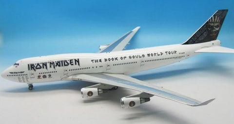 "Inflight 200 Iron Maiden Boeing 747-400 ""Ed Force One"" 1:200 IFIRONMAIDEN747 FREE S&H!"
