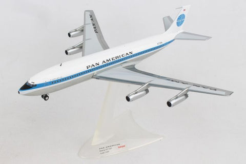 "Herpa 1:200 Pan Am 707-320 ""Jet Clipper Liberty Bell"" HE556835-001 N715PA"