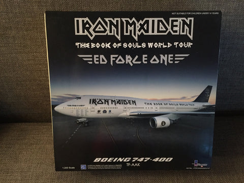 Inflight 200 Iron Maiden Boeing 747-400