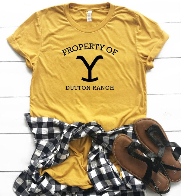 Property of Dutton Ranch Tee