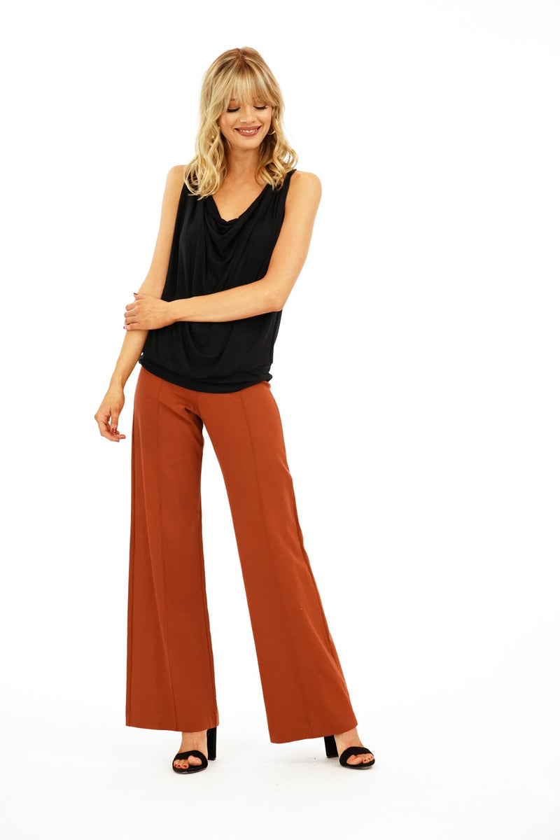 Veronica M Copper Ponti Pant
