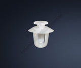 Side Moulding Clip White 8565.35 Peugeot Partner