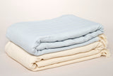 Herringbone Cotton Throw Blankets 180 x 240