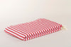Striped Light Cotton Throw Blanket 180 x 230
