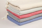 Diamond Cotton Throw Blankets 185 x 240