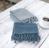 Stonewashed Cotton Turkish Towel
