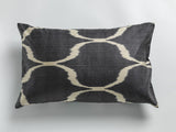 Silk ikat double-sided pillow cases 40cm x 60cm - check out the colors!