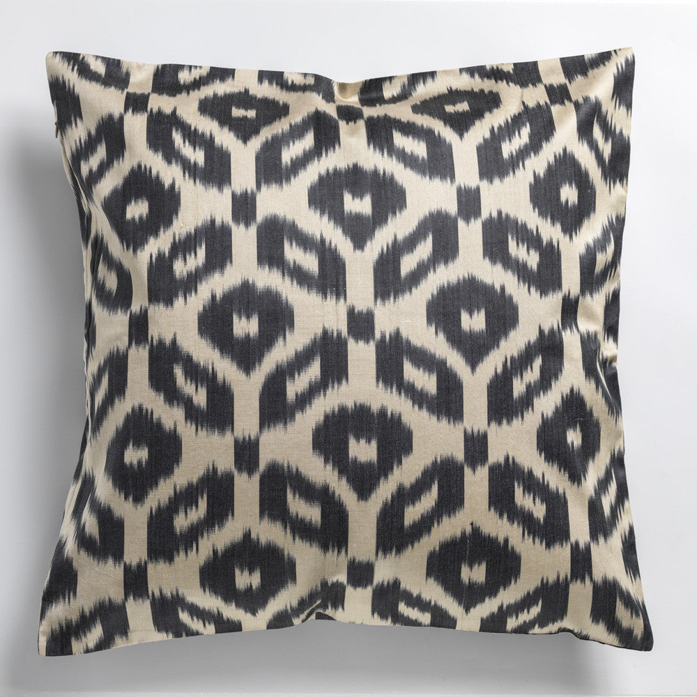 SILK IKAT PILLOW CASES - DOUBLE SIDE - 60X60CM CHECK OUT THE BEAUTIFUL COLORS